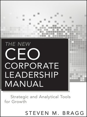cover image of The New CEO Corporate Leadership Manual