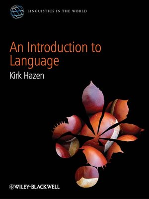 cover image of An Introduction to Language