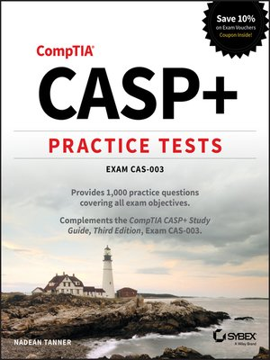 cover image of CASP+ Practice Tests