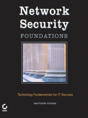 cover image of Network Security Foundations