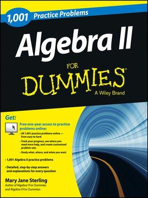 cover image of Algebra II