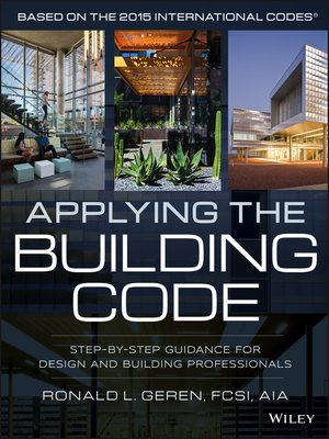 cover image of Applying the Building Code