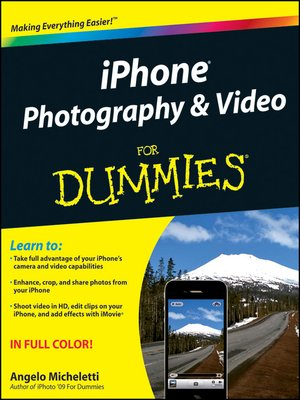cover image of iPhone Photography & Video For Dummies