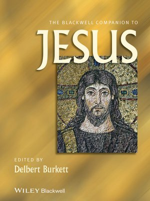 cover image of The Blackwell Companion to Jesus