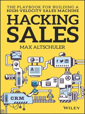 cover image of Hacking Sales