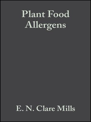 cover image of Plant Food Allergens
