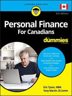 cover image of Personal Finance For Canadians For Dummies
