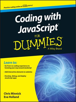 cover image of Coding with JavaScript For Dummies