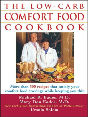 cover image of The Low-Carb Comfort Food Cookbook