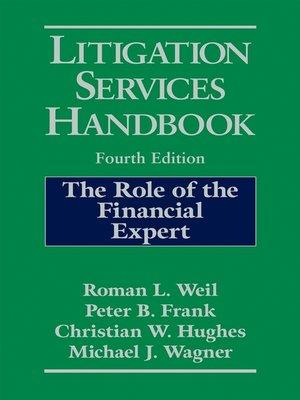 cover image of Litigation Services Handbook
