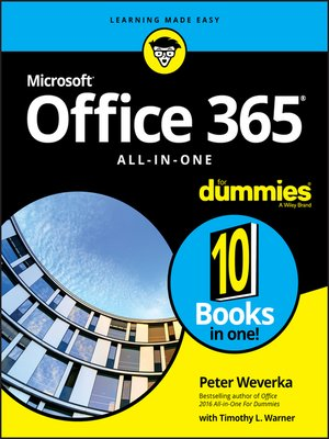 cover image of Office 365 All-in-One For Dummies