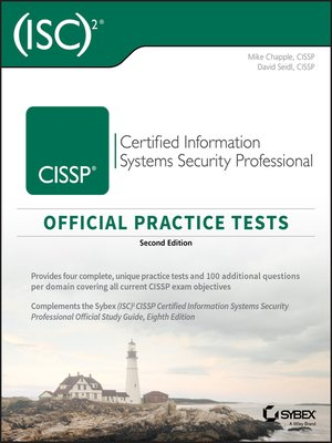 cover image of CISSP Official (ISC)2 Practice Tests