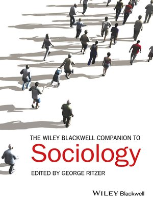 cover image of The Wiley-Blackwell Companion to Sociology