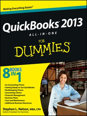 cover image of QuickBooks 2013 All-in-One For Dummies