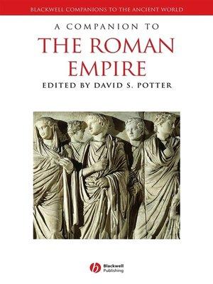 cover image of A Companion to the Roman Empire