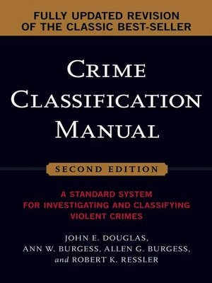 cover image of Crime Classification Manual