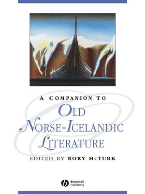 cover image of A Companion to Old Norse-Icelandic Literature and Culture
