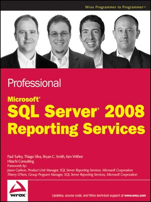 cover image of Professional Microsoft SQL Server 2008 Reporting Services