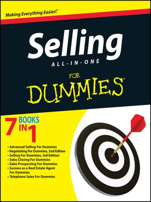 cover image of Selling All-in-One For Dummies