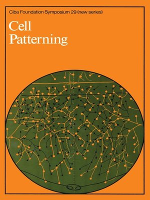 cover image of Cell Patterning