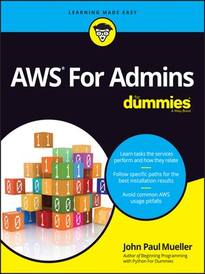 cover image of AWS For Admins For Dummies
