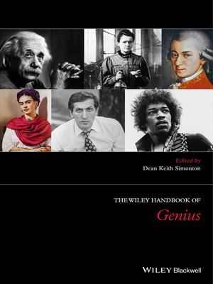 cover image of The Wiley Handbook of Genius
