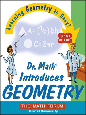 cover image of Dr. Math Introduces Geometry