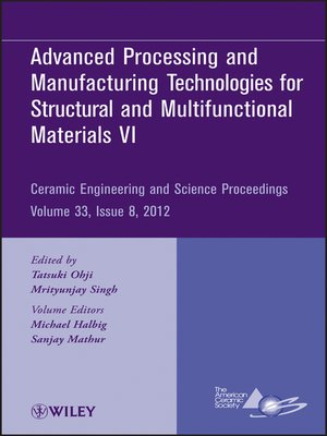 cover image of Advanced Processing and Manufacturing Technologies VI