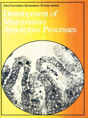 cover image of Development of Mammalian Absorptive Processes