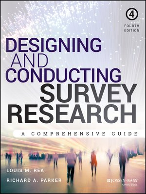 cover image of Designing and Conducting Survey Research