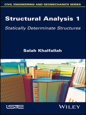 cover image of Structural Analysis 1