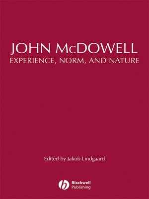 cover image of John McDowell