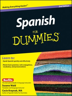 Spanish For Dummies by Susana Wald · OverDrive (Rakuten