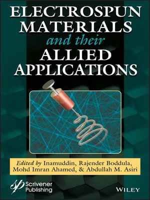 cover image of Electrospun Materials and Their Allied Applications
