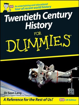 cover image of Twentieth Century History For Dummies