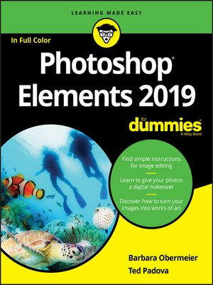 cover image of Photoshop Elements 2019 For Dummies