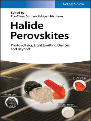 cover image of Halide Perovskites