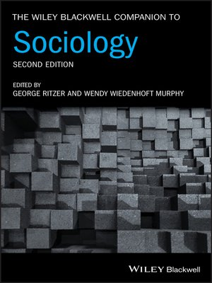 cover image of The Wiley Blackwell Companion to Sociology
