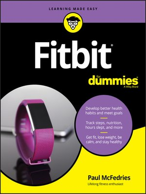 cover image of Fitbit For Dummies