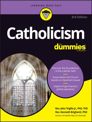 cover image of Catholicism For Dummies