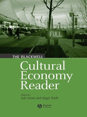 cover image of The Blackwell Cultural Economy Reader