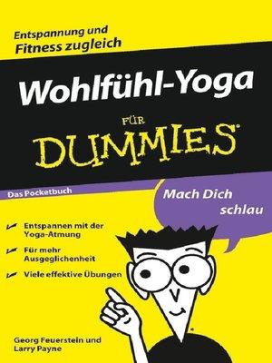 cover image of Wohlfühl-Yoga für Dummies Das Pocketbuch