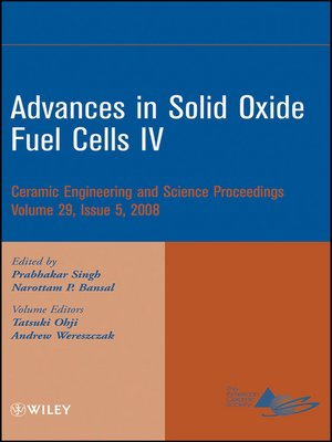 cover image of Advances in Solid Oxide Fuel Cells IV