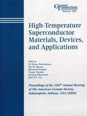 cover image of High-Temperature Superconductor Materials, Devices, and Applications