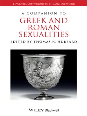cover image of A Companion to Greek and Roman Sexualities