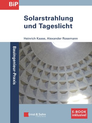 cover image of Solarstrahlung und Tageslicht