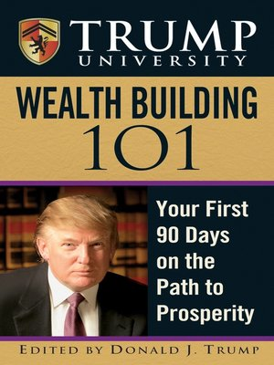 cover image of Trump University Wealth Building 101