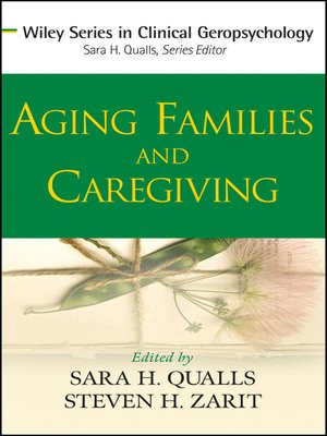 cover image of Aging Families and Caregiving