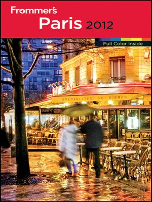 cover image of Frommer's Paris 2012