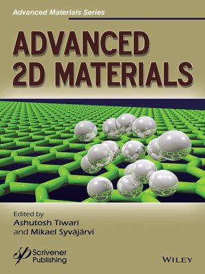 cover image of Advanced 2D Materials